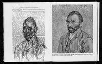 Alberto Giacometti, Portrait de van Gogh (Le Post-Impressionisme, John Rewald, 1961), ballpoint pen, 9-2/5 x 6-2/3 in.