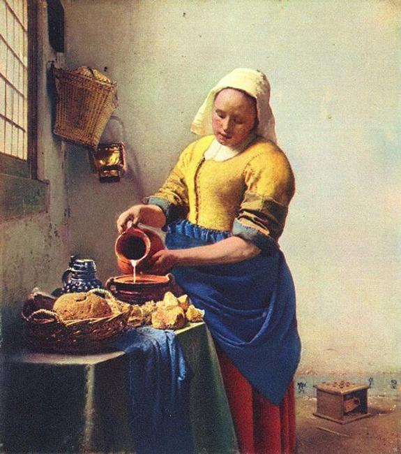 Vermeer's Milkmaid will be on view at the Met this fall.