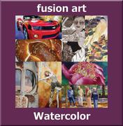 "Fusion Art's ""Watercolor"" Online Juried Art Exhibition www.fusionartps.com"