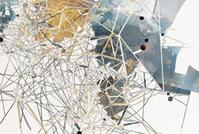 Val Britton, Transected Plan (detail), 2012, Mixed media collage, Courtesy of the Artist