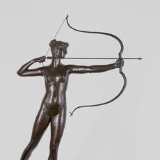 "Augustus Saint Gaudens (American, 1848-1907) ""Diana of the Tower"" Bronze, H.  38 ⅞ in."