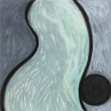 Wendy Edwards, Budding, 1984.  Pastel on paper, 42 x 30 in.  Courtesy of the artist.