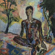Beauford Delaney (Knoxville 1901-1979 Paris), Dark Rapture (James Baldwin), 1941.  Oil on Masonite, 34 x 28 inches, Collection of halley k harrisburg and Michael Rosenfeld, New York.  Image courtesy of Michael Rosenfeld Gallery LLC, New York.  n© Estate of Beauford Delaney by permission of Derek L.  Spratley, Esquire, Court Appointed Administrator