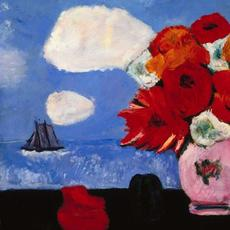 Marsden Hartley, Summer Clouds and Flowers, 1942.  Brooklyn Museum.