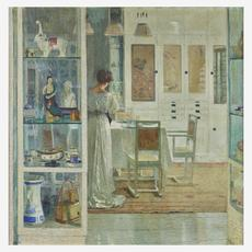 Carl Moll's White Interior (Lot 56) sold for $4,756,000.