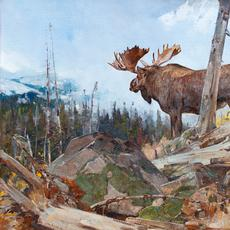 Carl Rungius (1869–1959), Alaskan Wilderness, oil on canvas, 40 1/4 x 50 1/4 in, Sold: $642,500