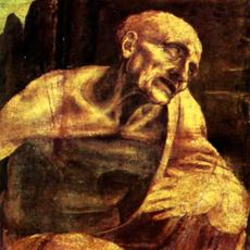 Leonardo da Vinci, St.  Jerome Praying in the WIldnerness (detail), begun around 1483, the Vatican Museums.