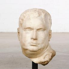 Roman marble bust of Emperor Vitellius after the Grimani Vitellius, with an overall height of 19 inches (est.  $15,000-$20,000).