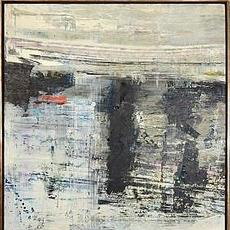 Arctic Light, 1963, oil on canvas, 42 x 42