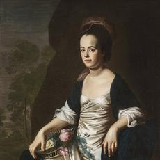 John Singleton Copley, American, 1738–1815.  Portrait of Mrs.  John Stevens (Judith Sargent, later Mrs.  John Murray), 1770–72.  Oil on canvas (50 x 40 in.  unframed).  Terra Foundation for American Art, Daniel J.  Terra Art Acquisition Endowment Fund.  Photography ©Terra Foundation for American Art, Chicago.