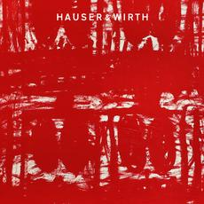 Rashid Johnson, Untitled Anxious Red Drawings.  Offered as a Zoom background for download from Hauser & Wirth.