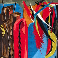 detail: Jacob Lawrence (American, 1917–2000).  In all your intercourse with the natives, treat them in the most friendly and conciliatory manner which their own conduct will admit .  .  .  —Jefferson to Lewis & Clark, 1803 (detail), 1956.  Egg tempera on hardboard, 16 x 12 in.  (40.6 x 30.5 cm).  Collection of Harvey and Harvey-Ann Ross.  © 2020 The Jacob and Gwendolyn Knight Lawrence Foundation, Seattle / Artists Rights Society (ARS), New York