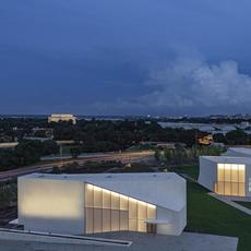 Designed by Steven Holl Architects with BNIM, The REACH at the Kennedy Center for Performing Arts opened to the public in 2019.