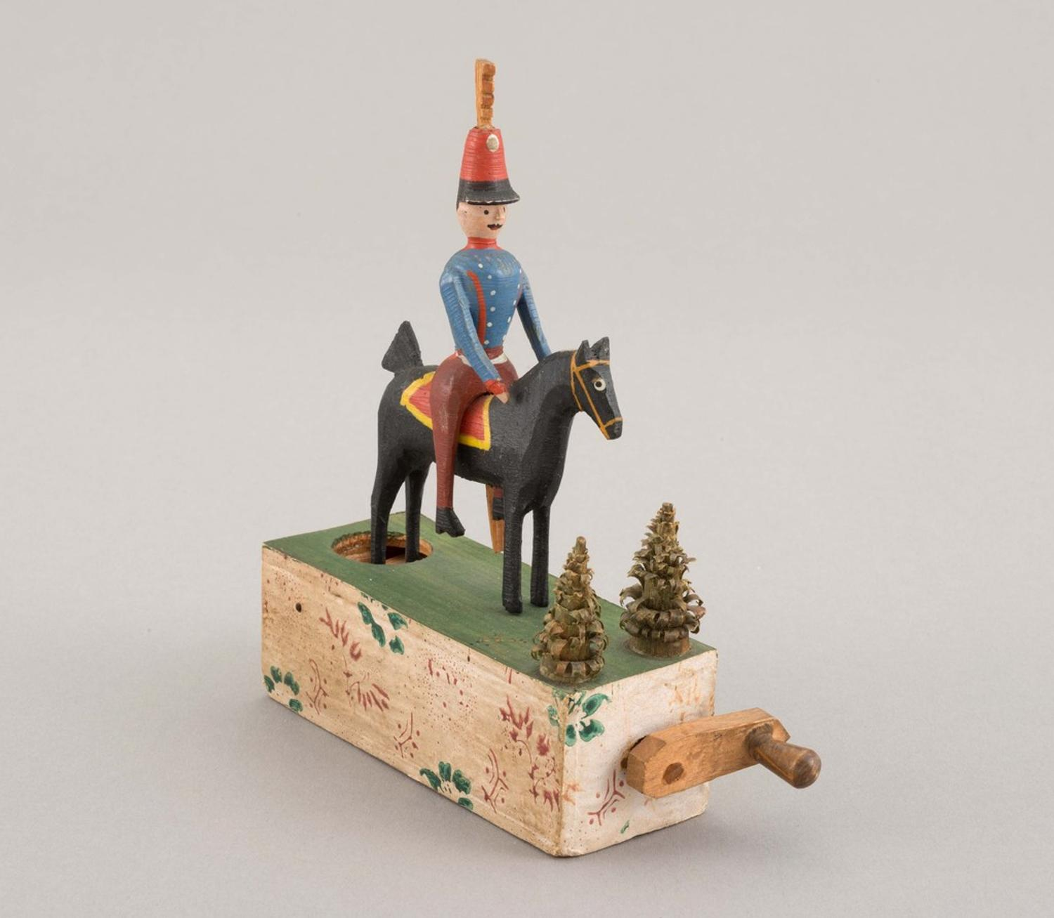 First Major Exhibition Of 19th Century Wooden Toys Made