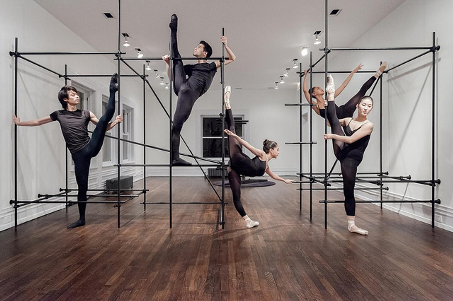 Artists And Dancers Explore Borders Within Museum