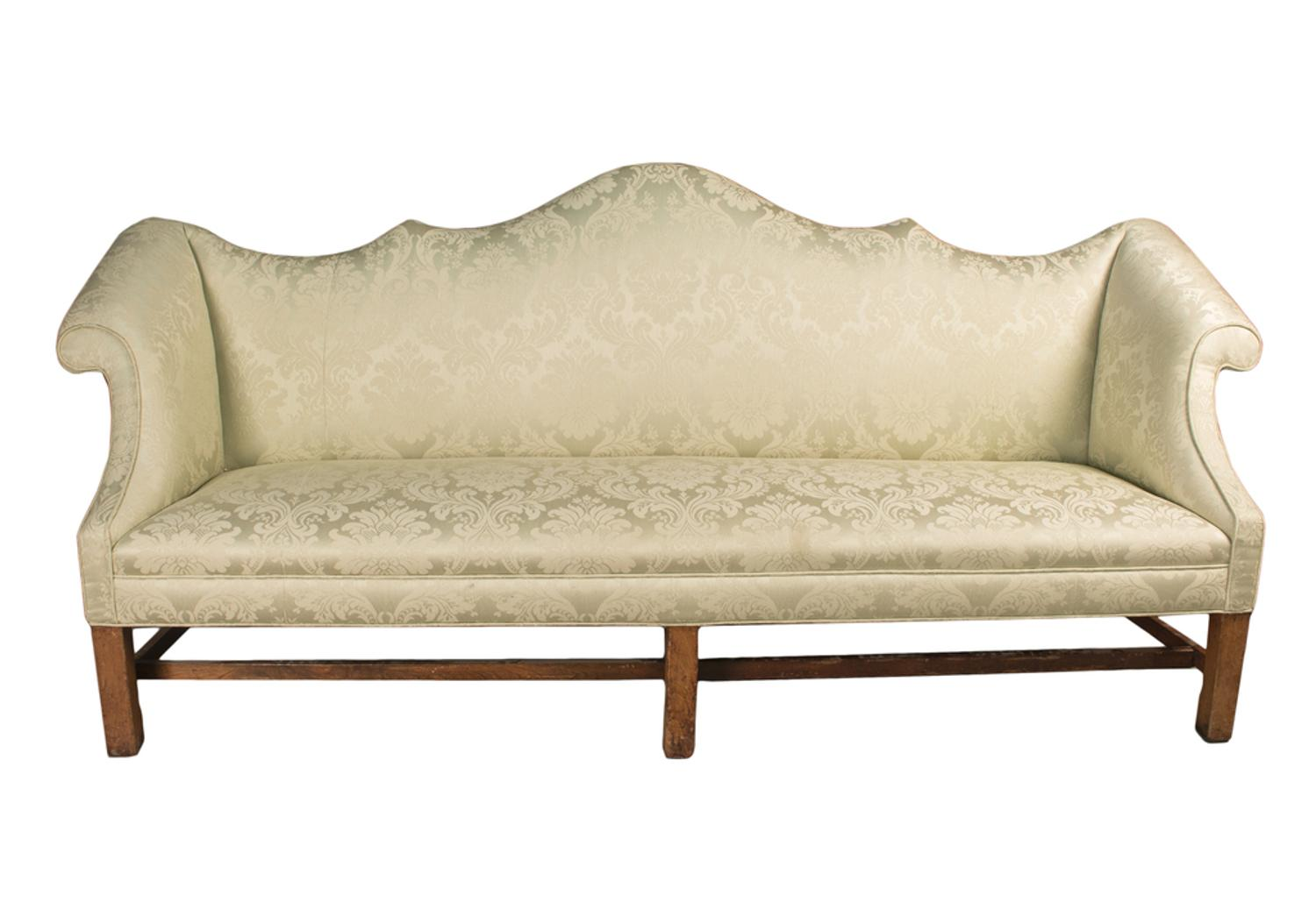 Newly Discovered Chippendale Sofa Circa 1770 Offered In Witherell 39 S American Arts Auction
