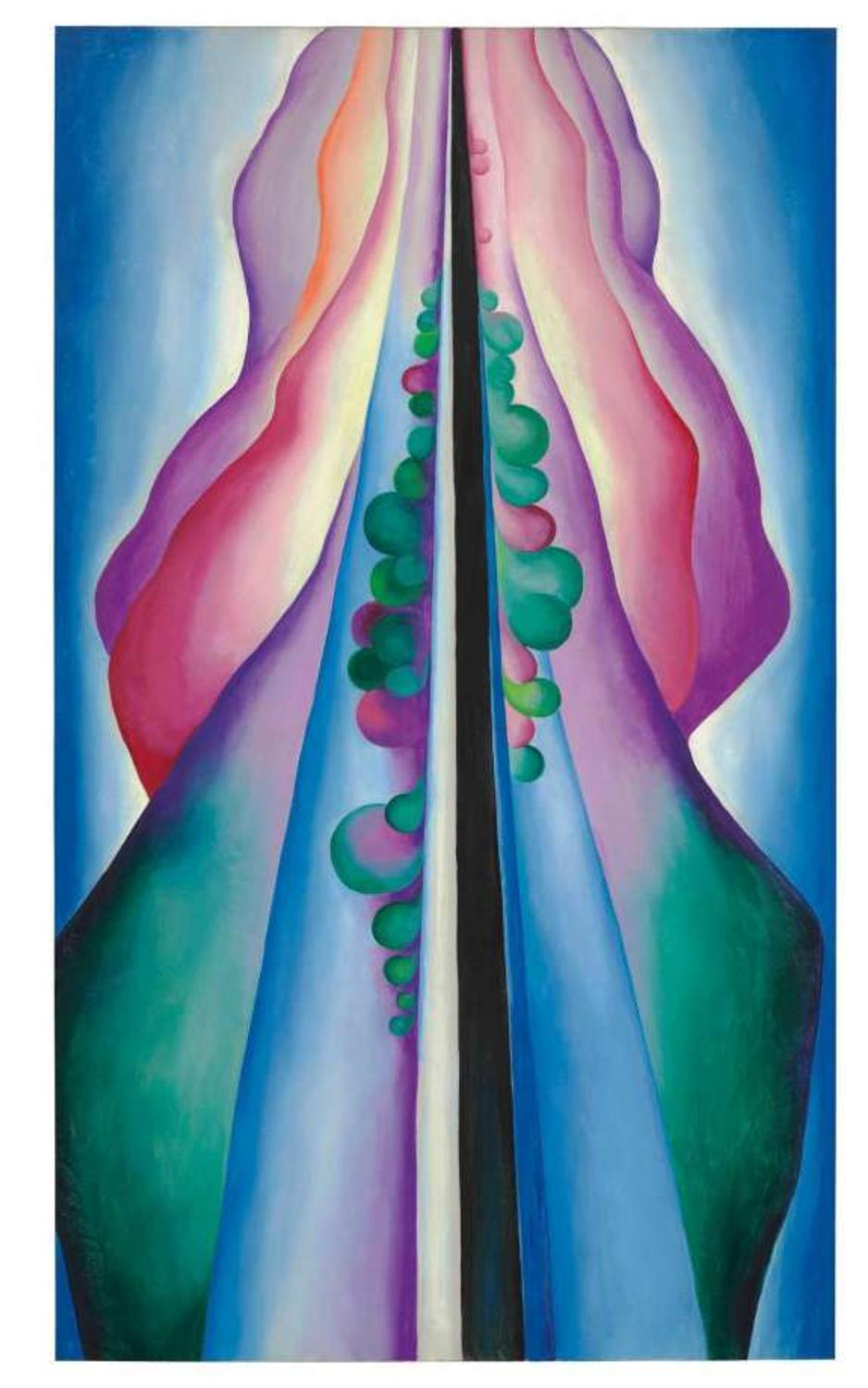 Unusual Georgia O Keeffe Painting Leads Christie S