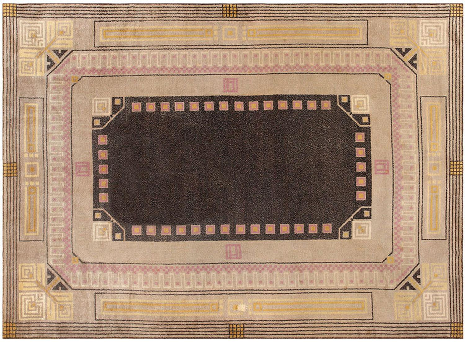 art deco rug. Nazmiyal Acquires Art Deco Carpet By Famed Designer Josef Hoffmann - Collection Blog From ArtfixDaily.com Rug
