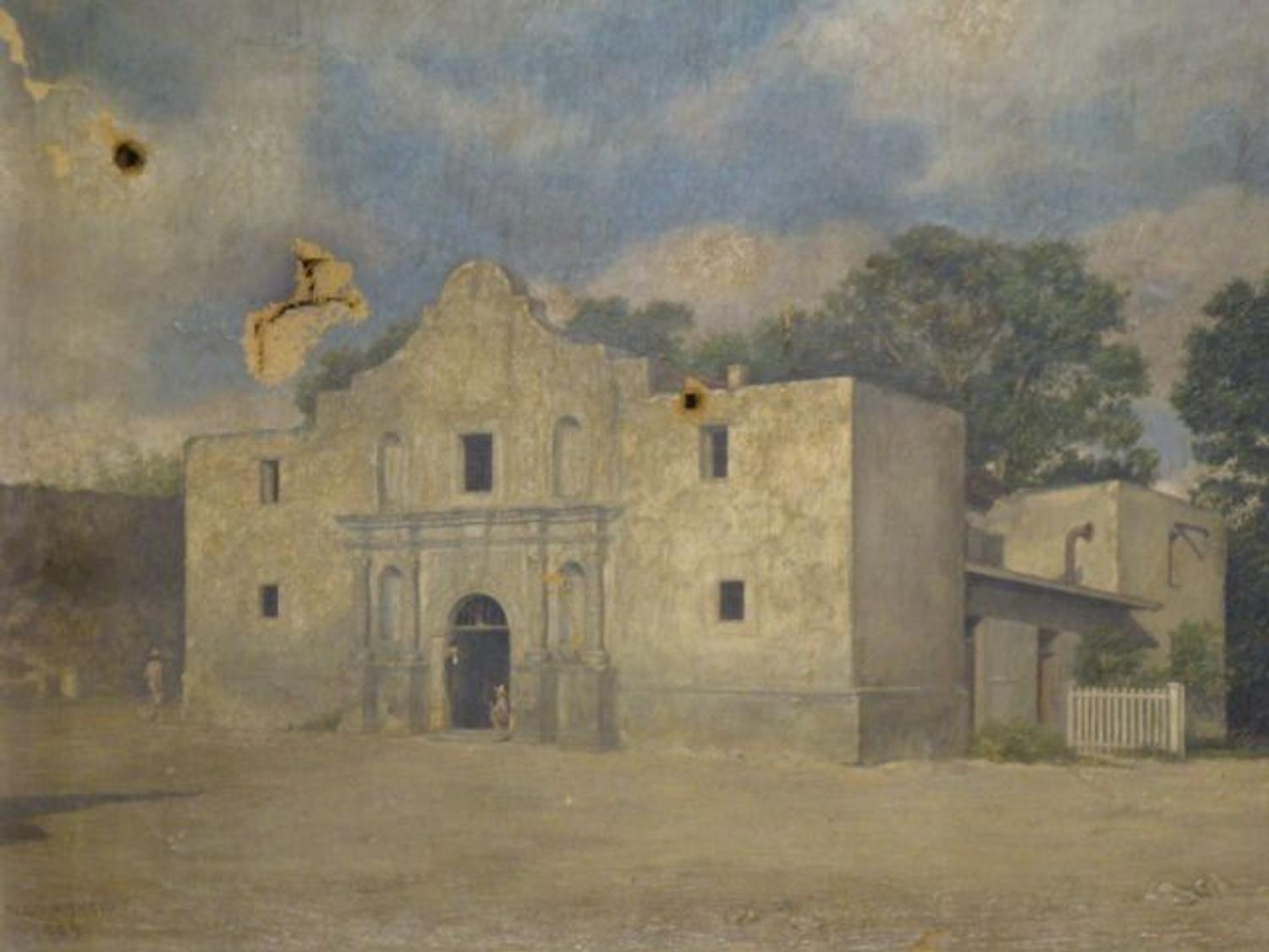 Early Alamo Painting Ascends Above 35k Artfixdaily News Watermelon Wallpaper Rainbow Find Free HD for Desktop [freshlhys.tk]