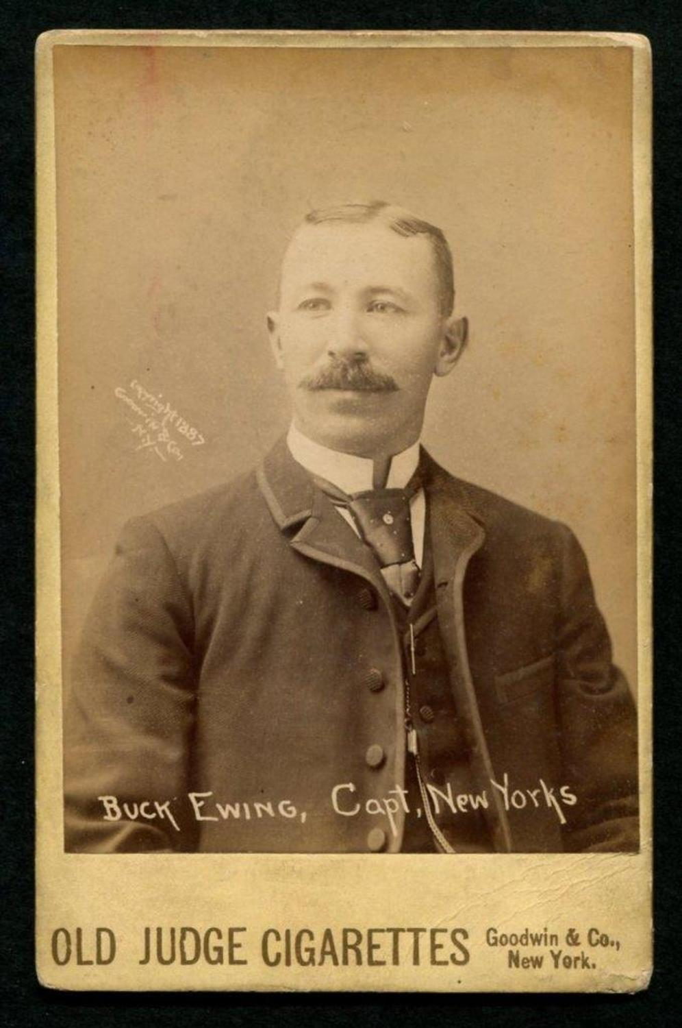 Group Of 37 Old Judge Cabinet Baseball Cards From 1888 Sell For A