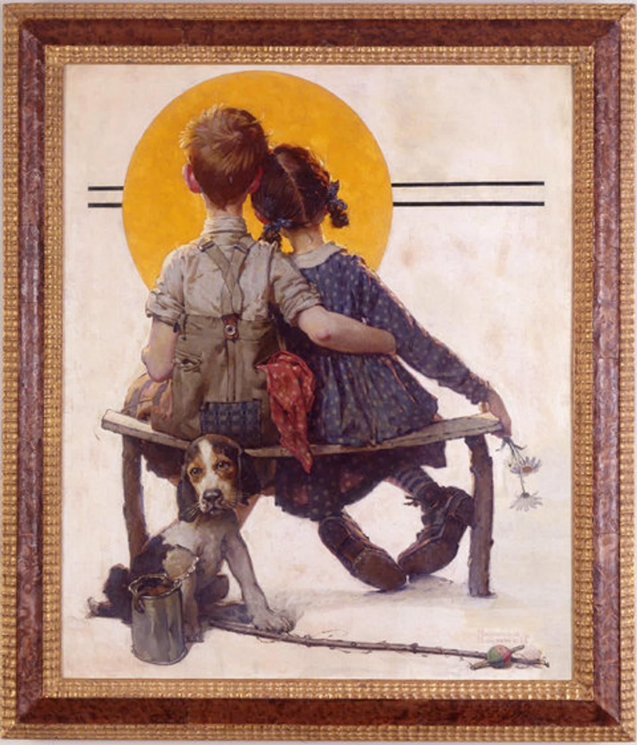 A Sweet Gift for the Norman Rockwell Museum - ArtfixDaily ... African American Love Pictures
