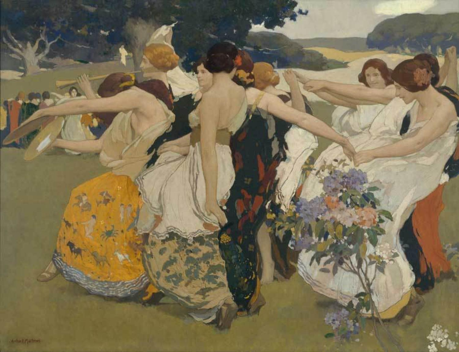 Traveling Exhibition Explores Dance In American Art