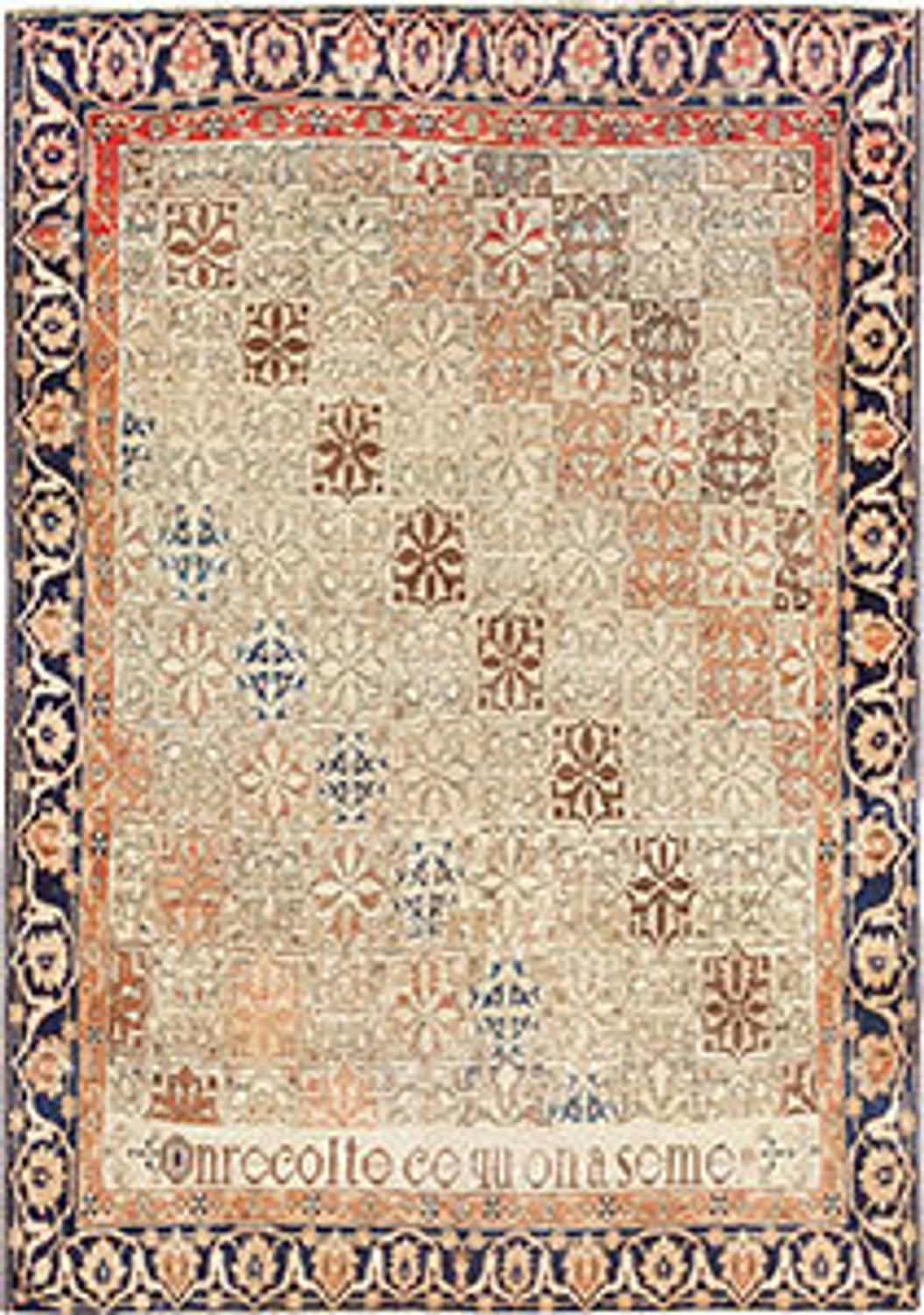Persian carpet designs shining home design - Deluxe persian living room designs with artistic rug collection ...
