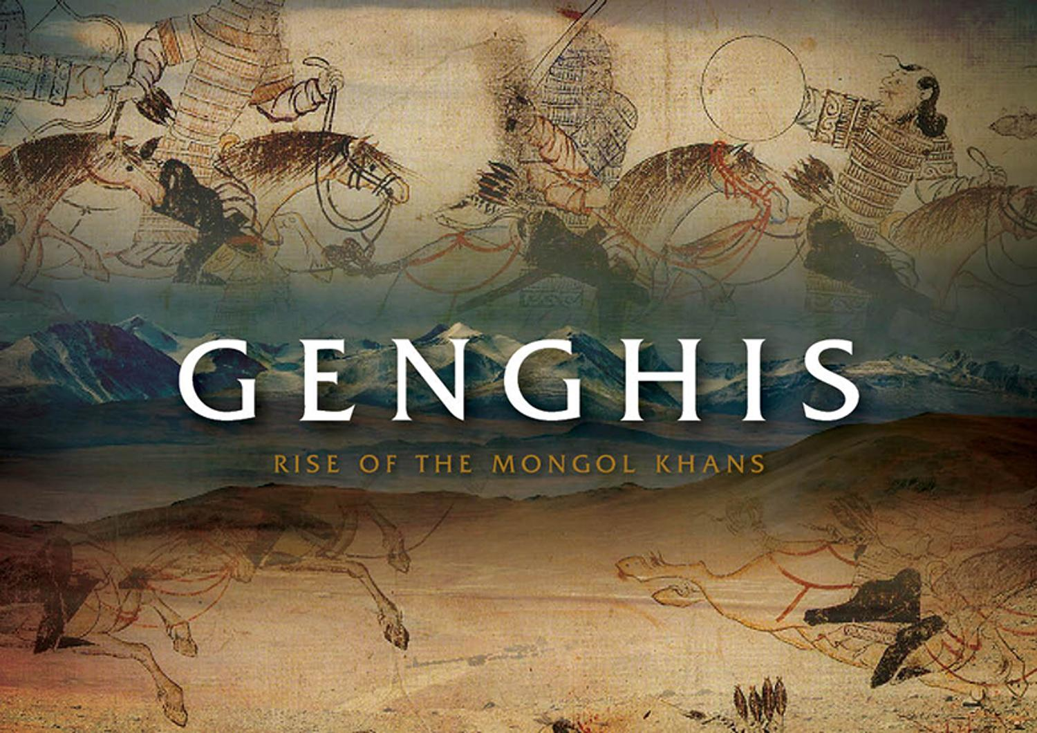 genghis and the great mongol khans the exhibition artwire press release from