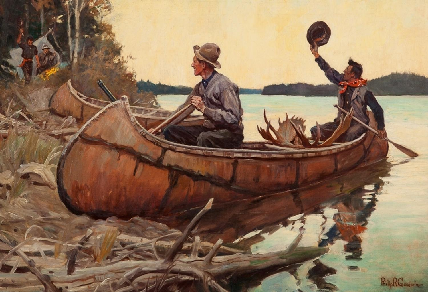 Philip Goodwin Painting Leads Copley Auctions 2013 Winter
