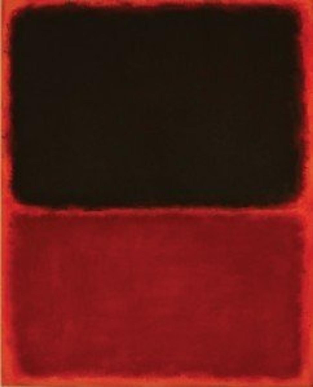 Red Painting Rothko
