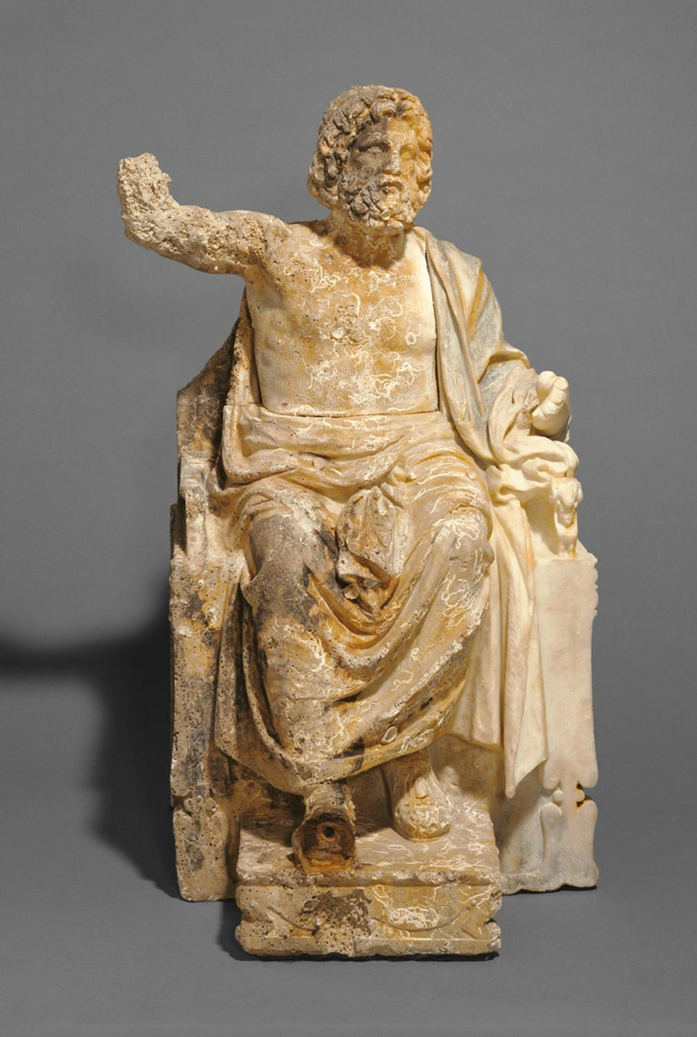 Getty Museum To Return Ancient Zeus Statue To Italy