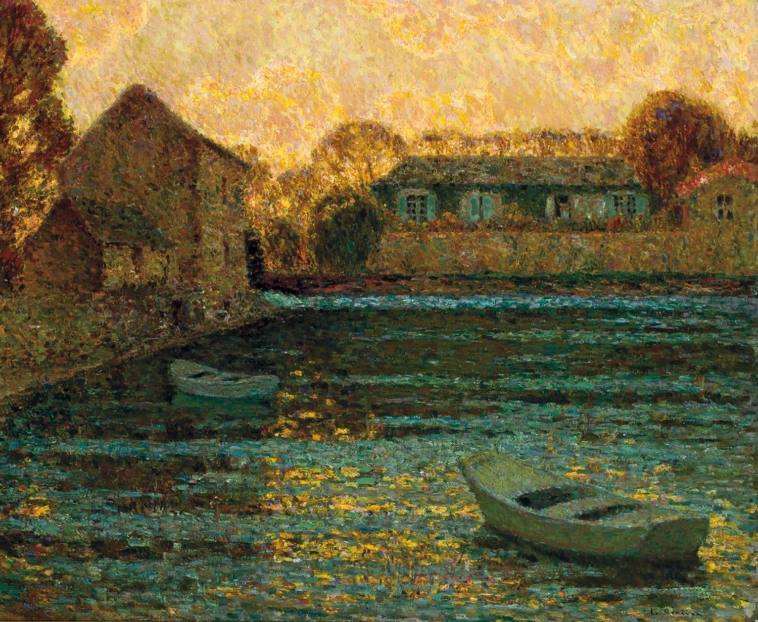 Original Oil Painting By Henri Le Sidaner Expected To