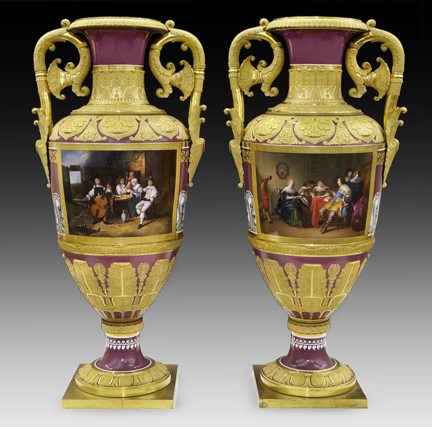Dallas Auction Gallery To Sell Imperial Porcelain Vases