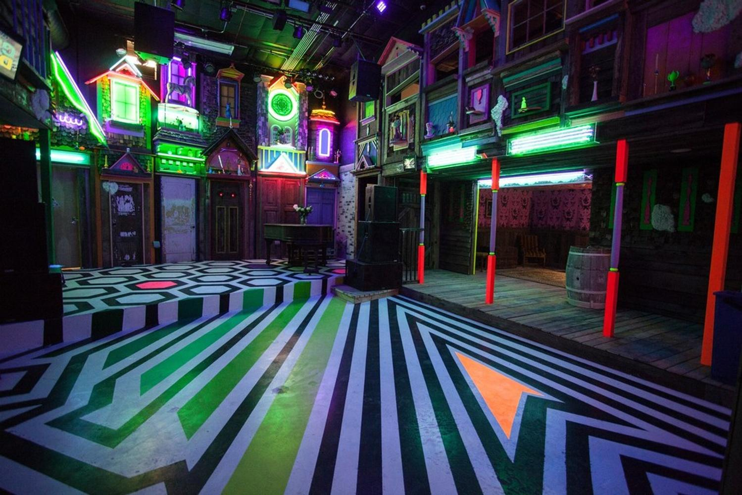 Arts collective meow wolf creates massive interactive for Www the house com returns