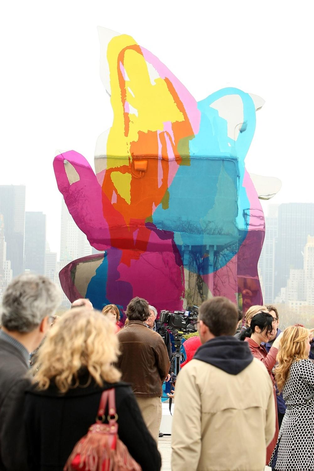 Monumental Jeff Koons Sculpture at Cannes Auction in amfAR\'s Cinema ...