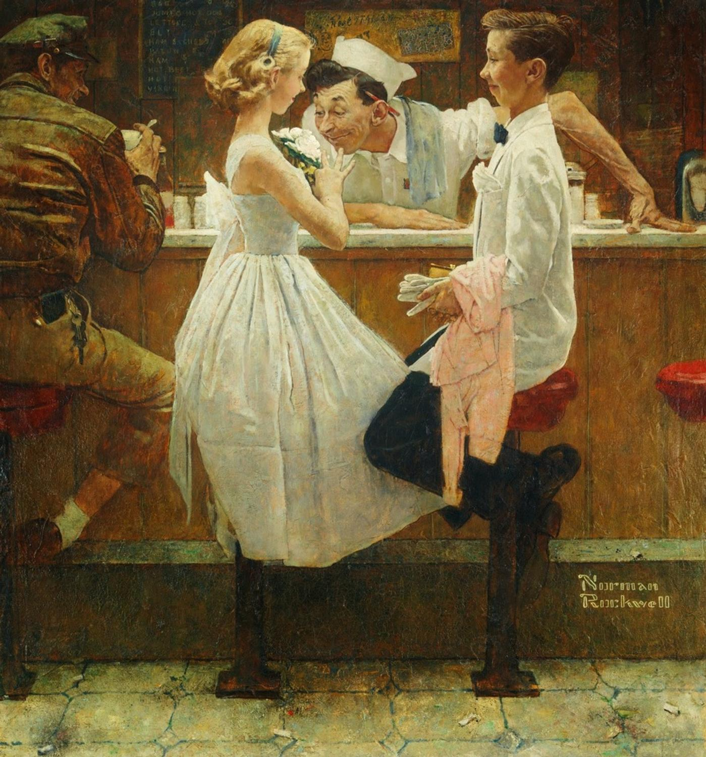 Norman Rockwell Tops Sotheby S 46 Million American Art