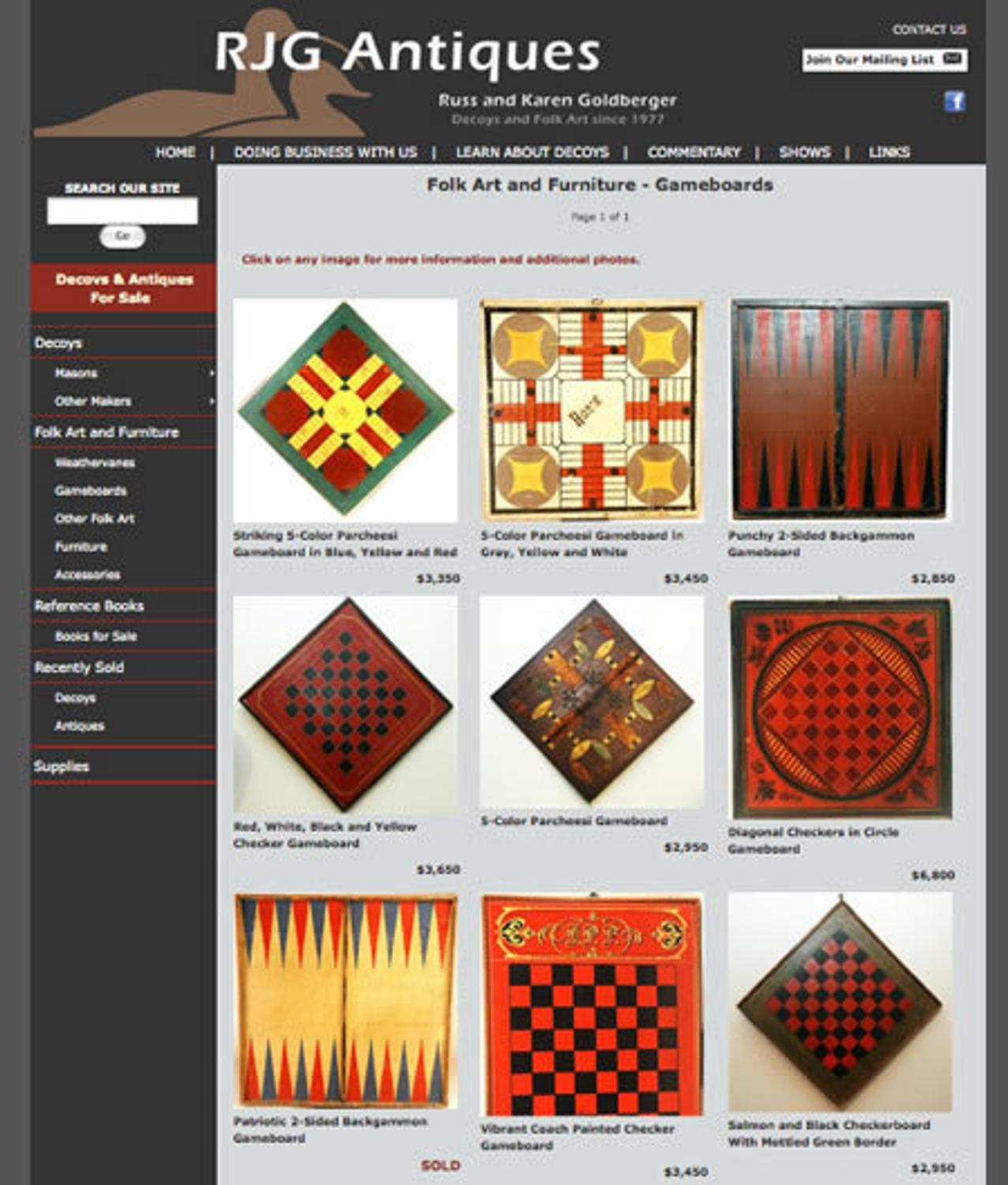 Goldbergers launch new website continue to lead the way for Website for selling art