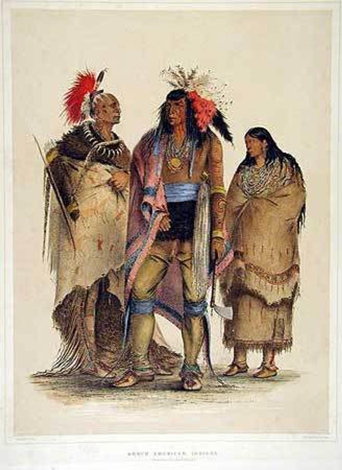George Catlin Indian Portfolio Sparks International ...