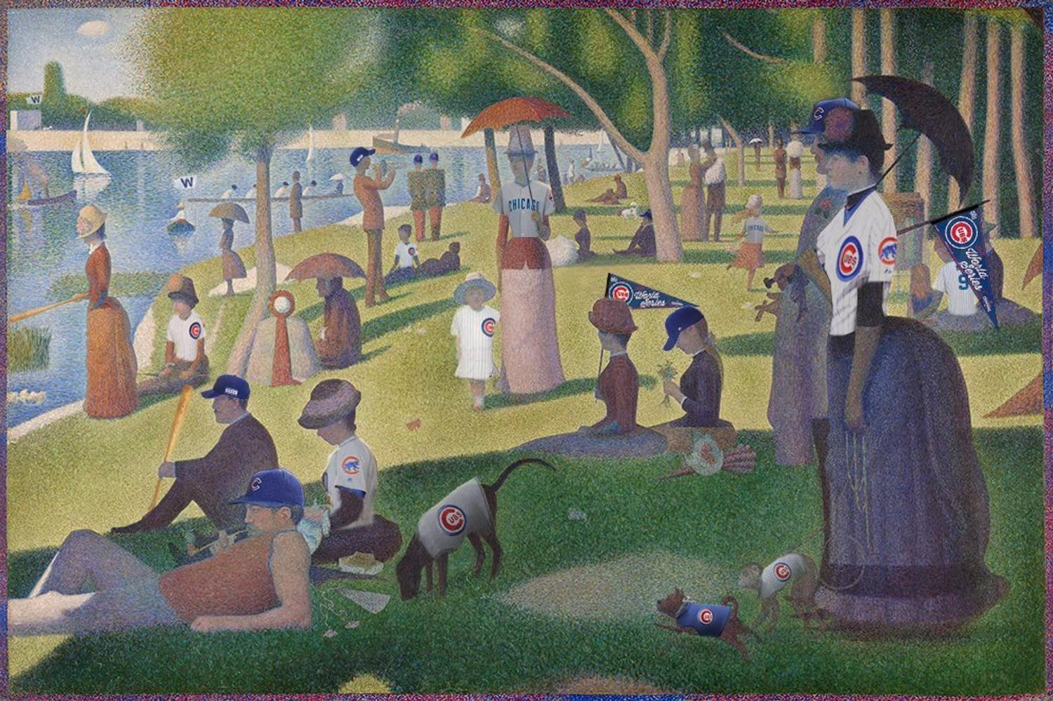 Famous Contemporary Paintings In The Art Institute Of Chicago
