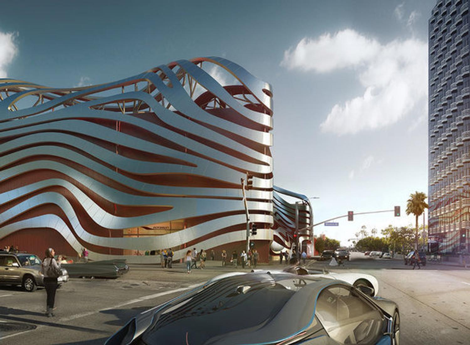 a revamped petersen automotive museum with 350m in cars