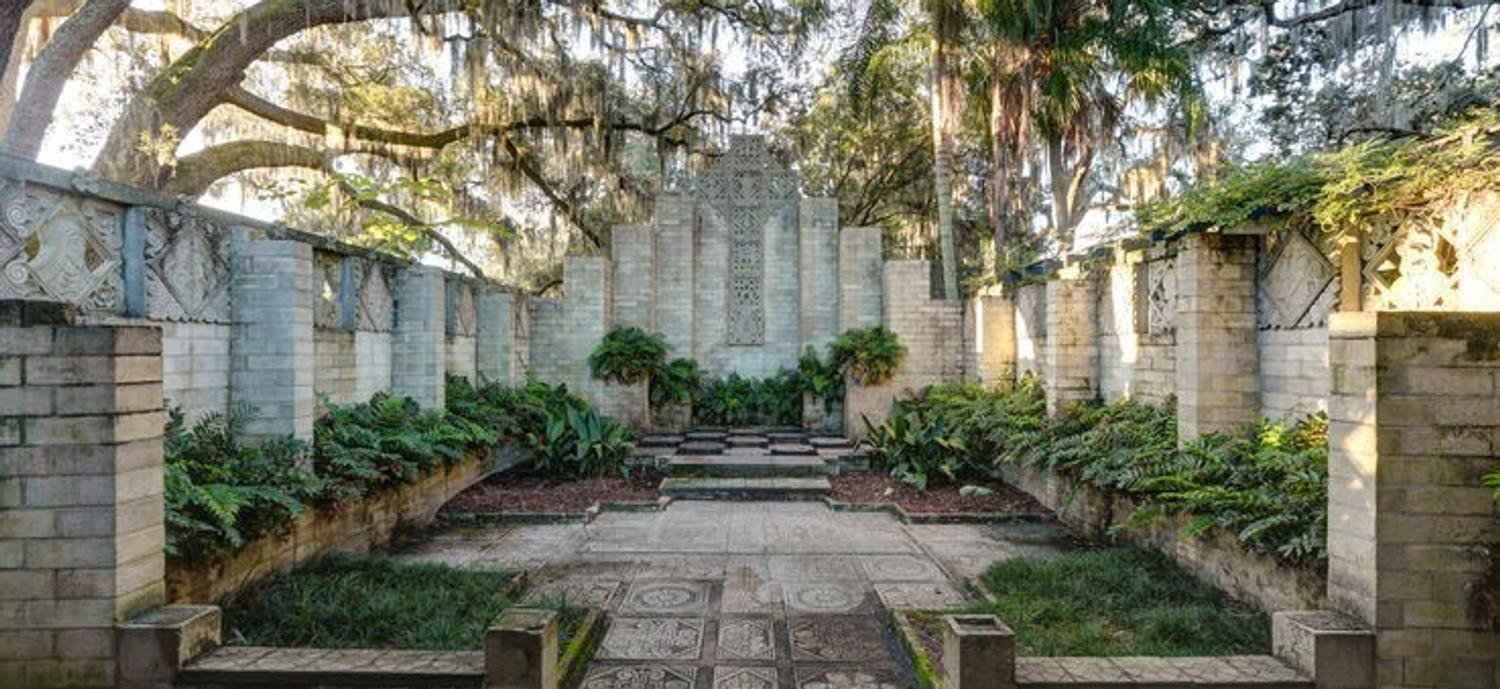 Mayan Revival Style Artist Studio In Florida Named