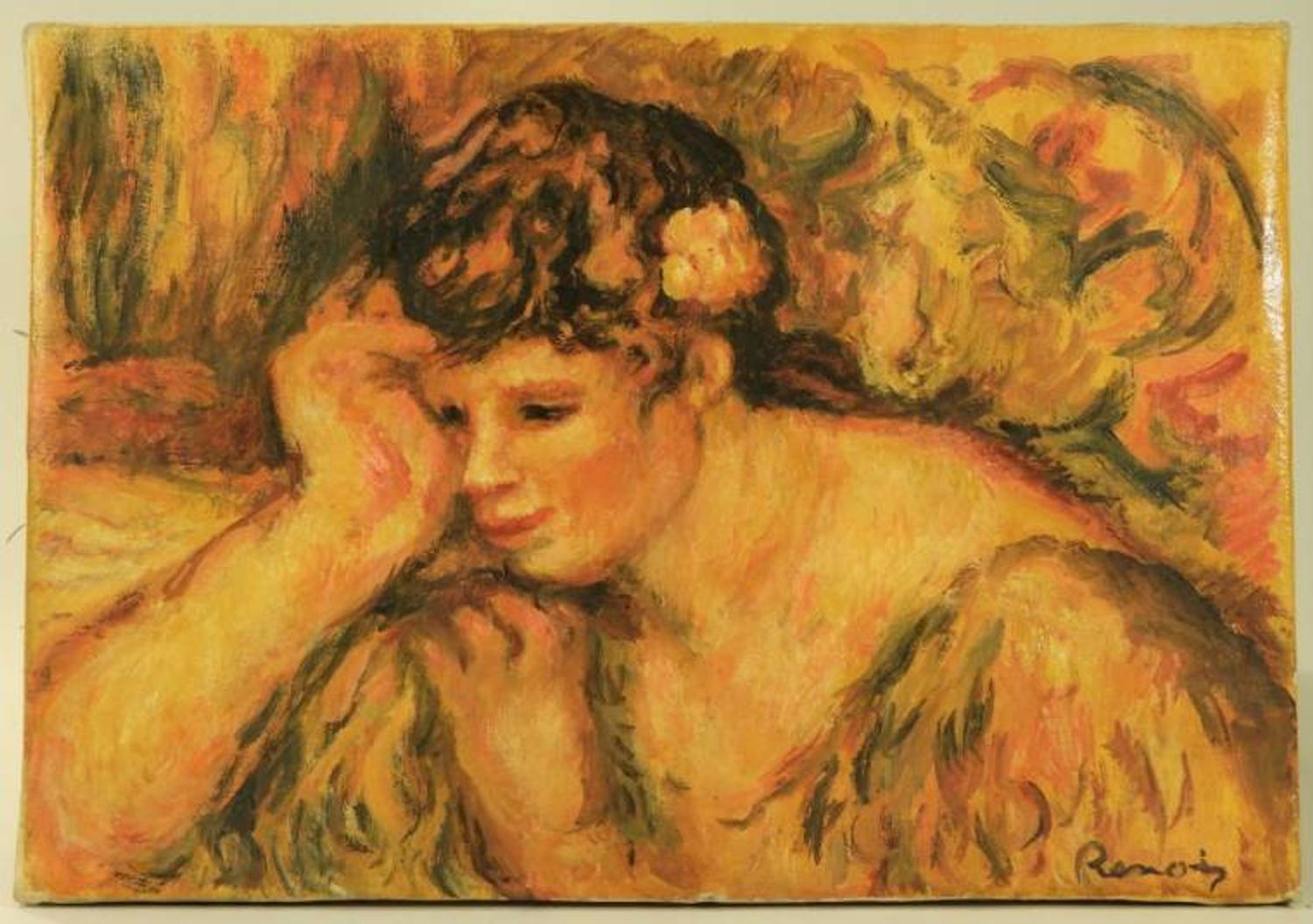 Market Fresh Portrait Painting By Renoir Will Be Auctioned