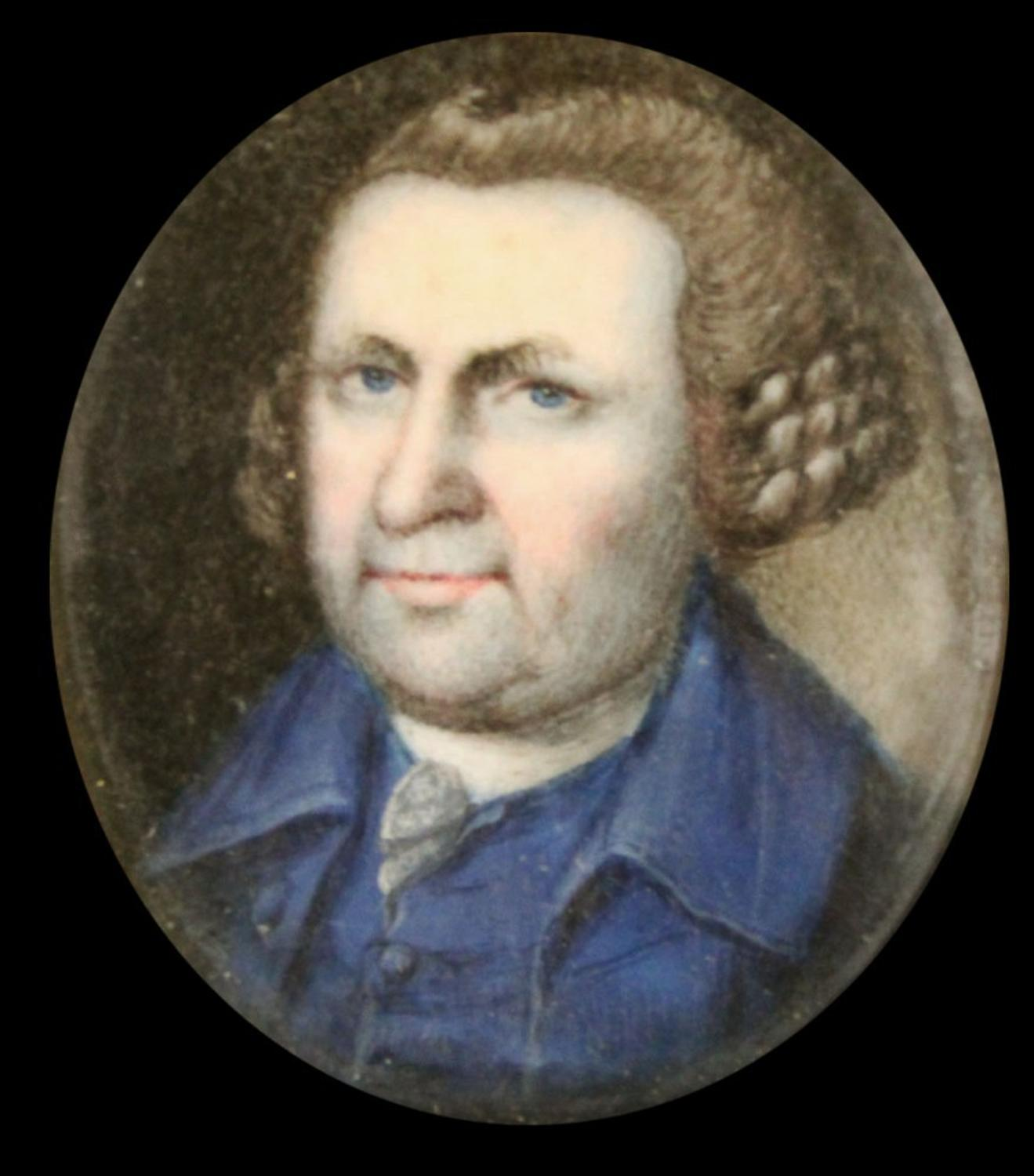 Nine Colonial Era Oval Miniature On Ivory Portraits By Charles Willson Peale Realize A Combined
