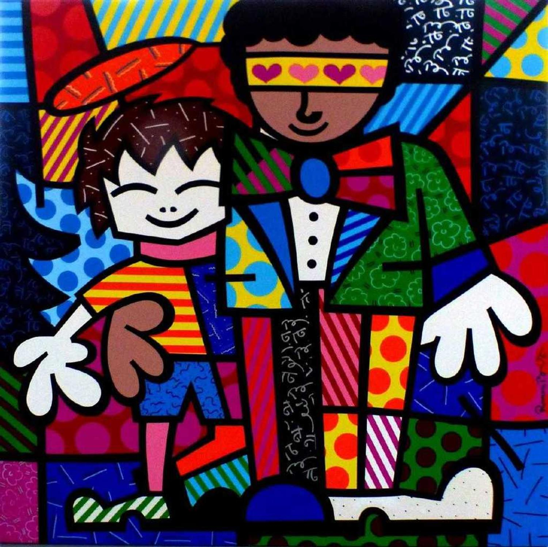 Artworks By Romero Britto Richard Macdonald Ellsworth