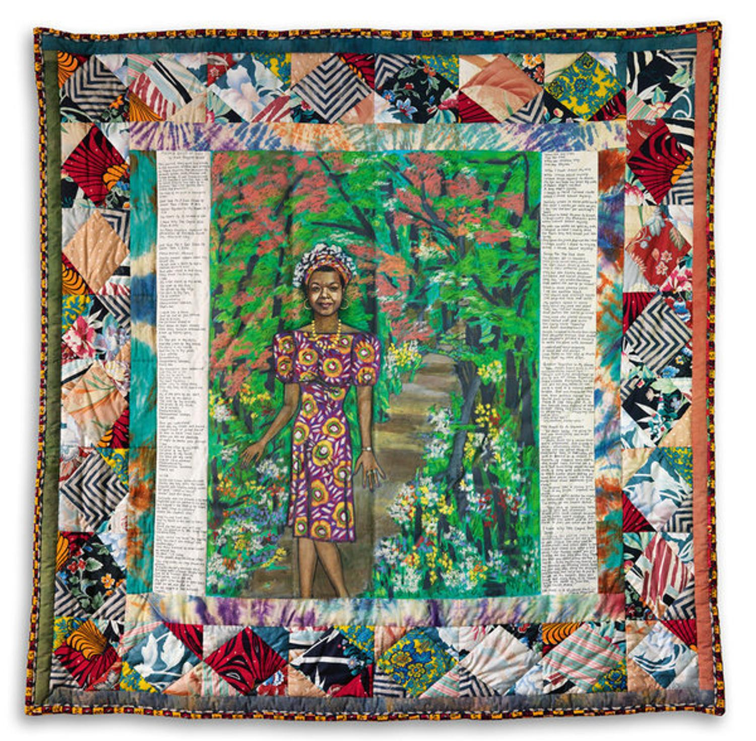 Crystal Bridges Acquires Oprah's Gift of Faith Ringgold Quilt to Maya Angelou