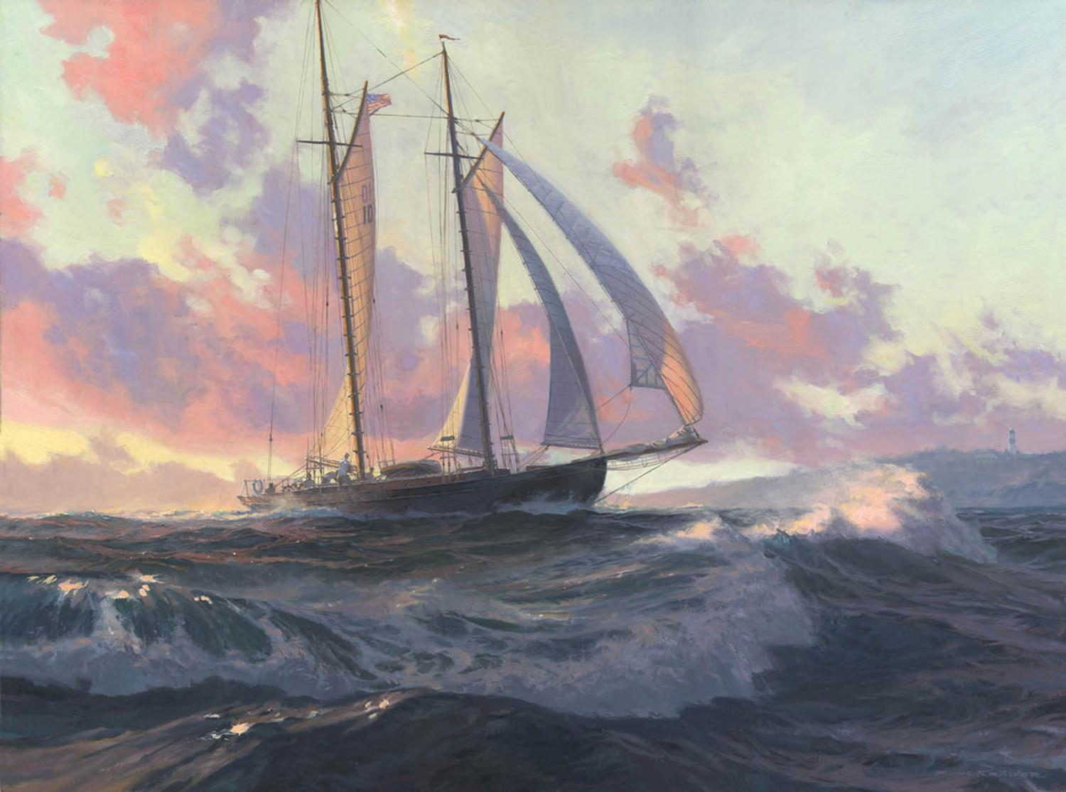 The Best In Contemporary American Marine Art Heads To