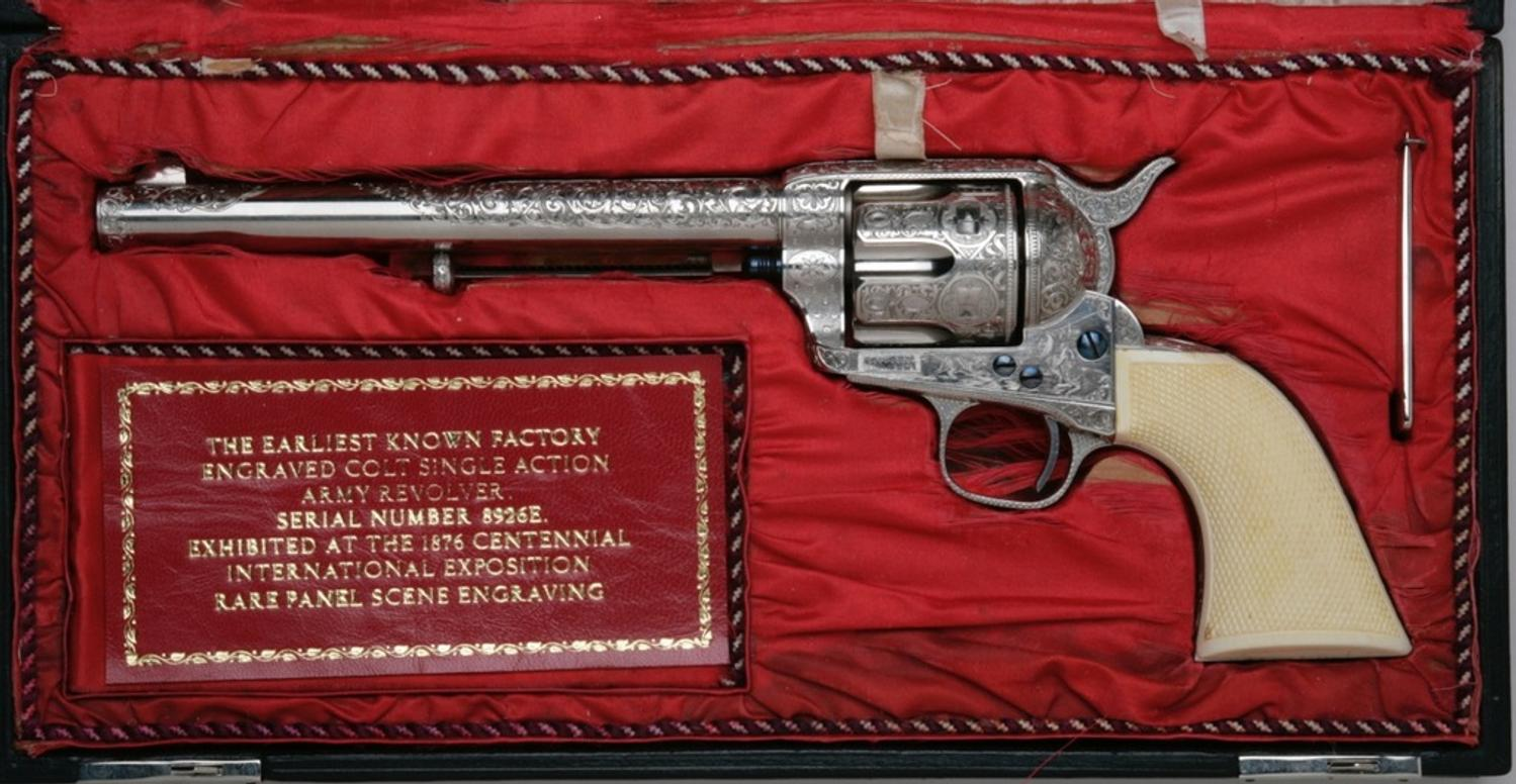colt hispanic singles The colt single action army, also known as the single action army, saa, model p, peacemaker, m1873, and colt 45 is a single-action revolver with a revolving cylinder holding six metallic cartridges.