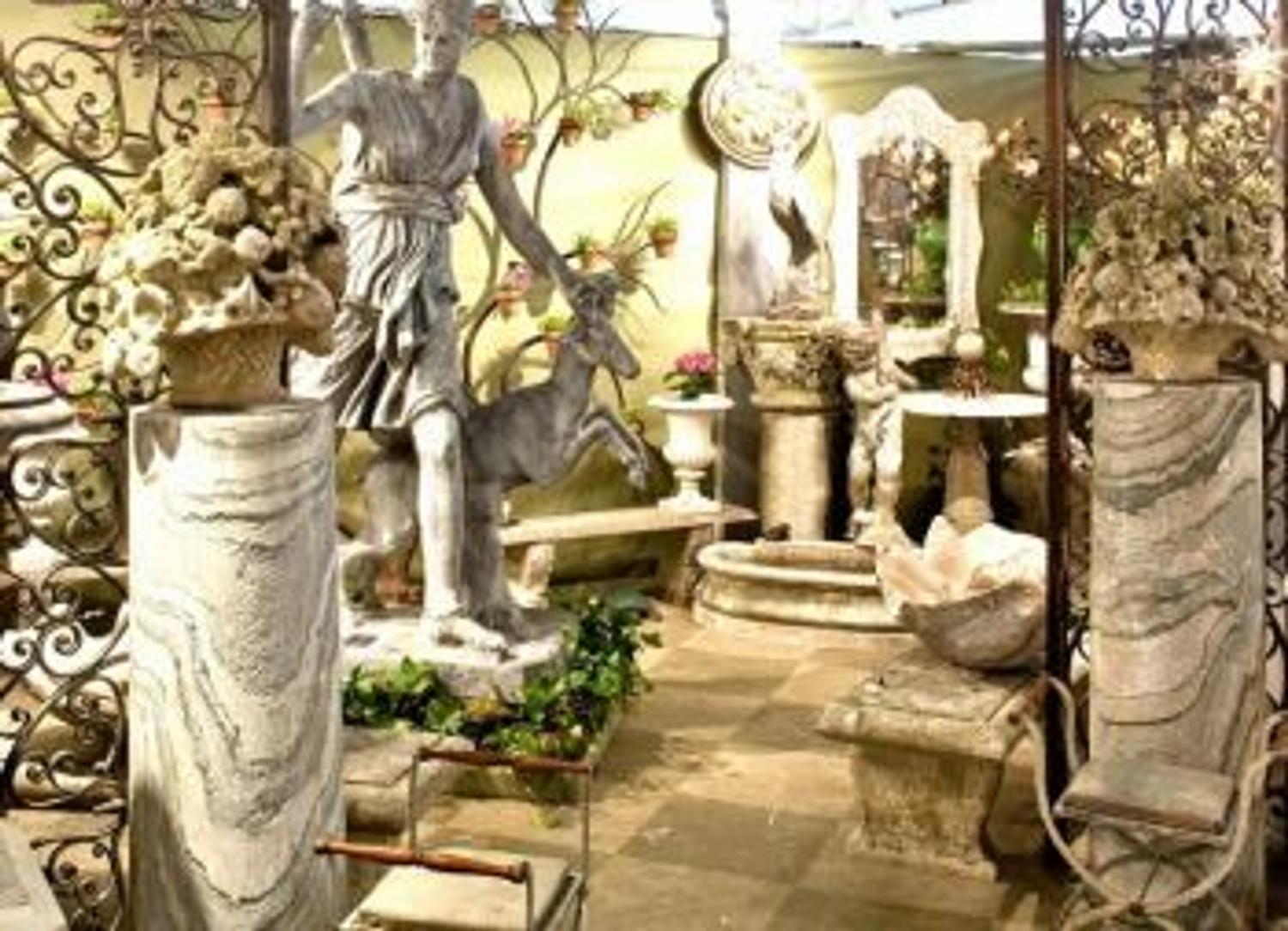 Harbinger of Spring: Antique Garden Furniture Show & Sale ...