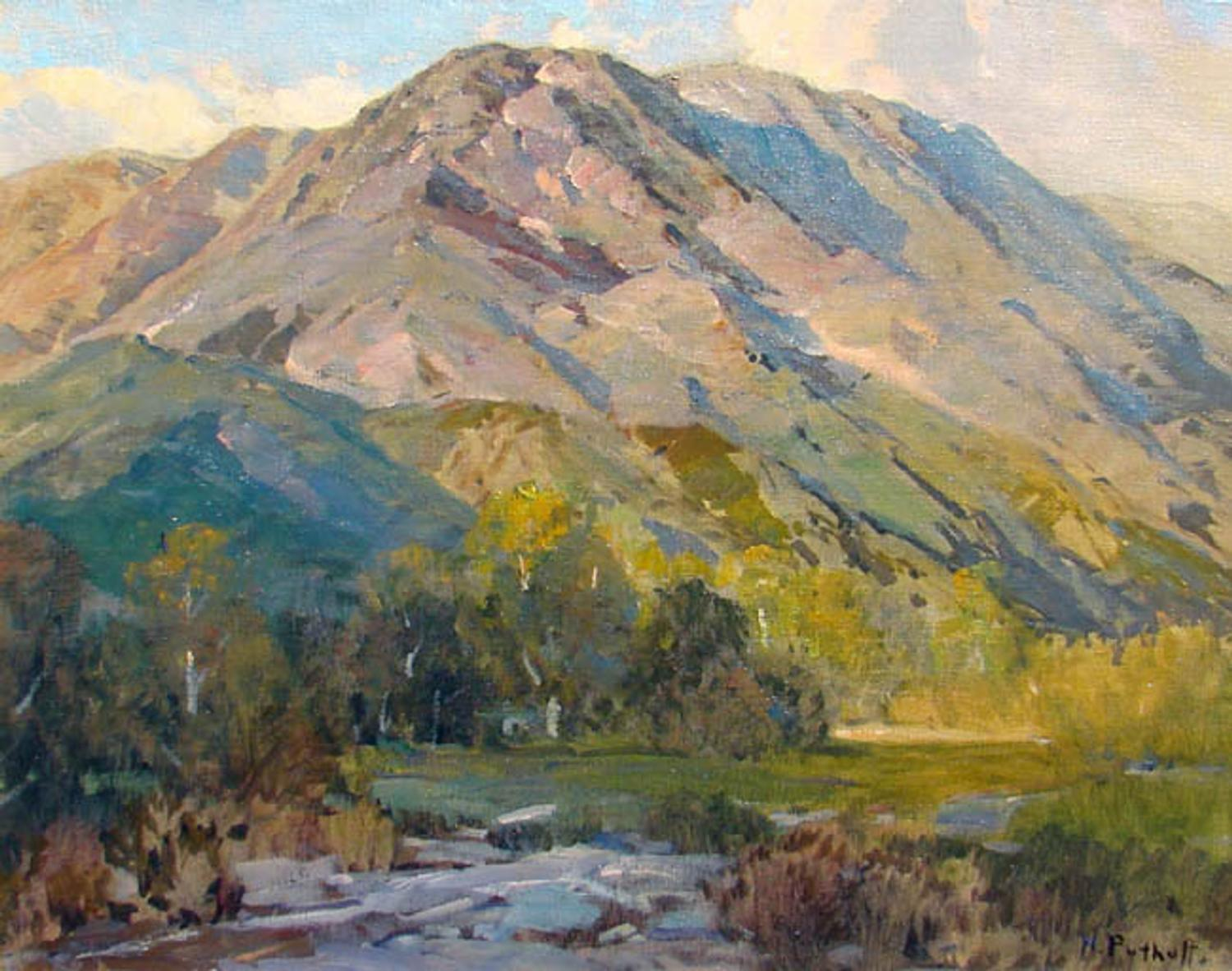 The Landscapes Of Hanson Duvall Puthuff Artfixdaily News