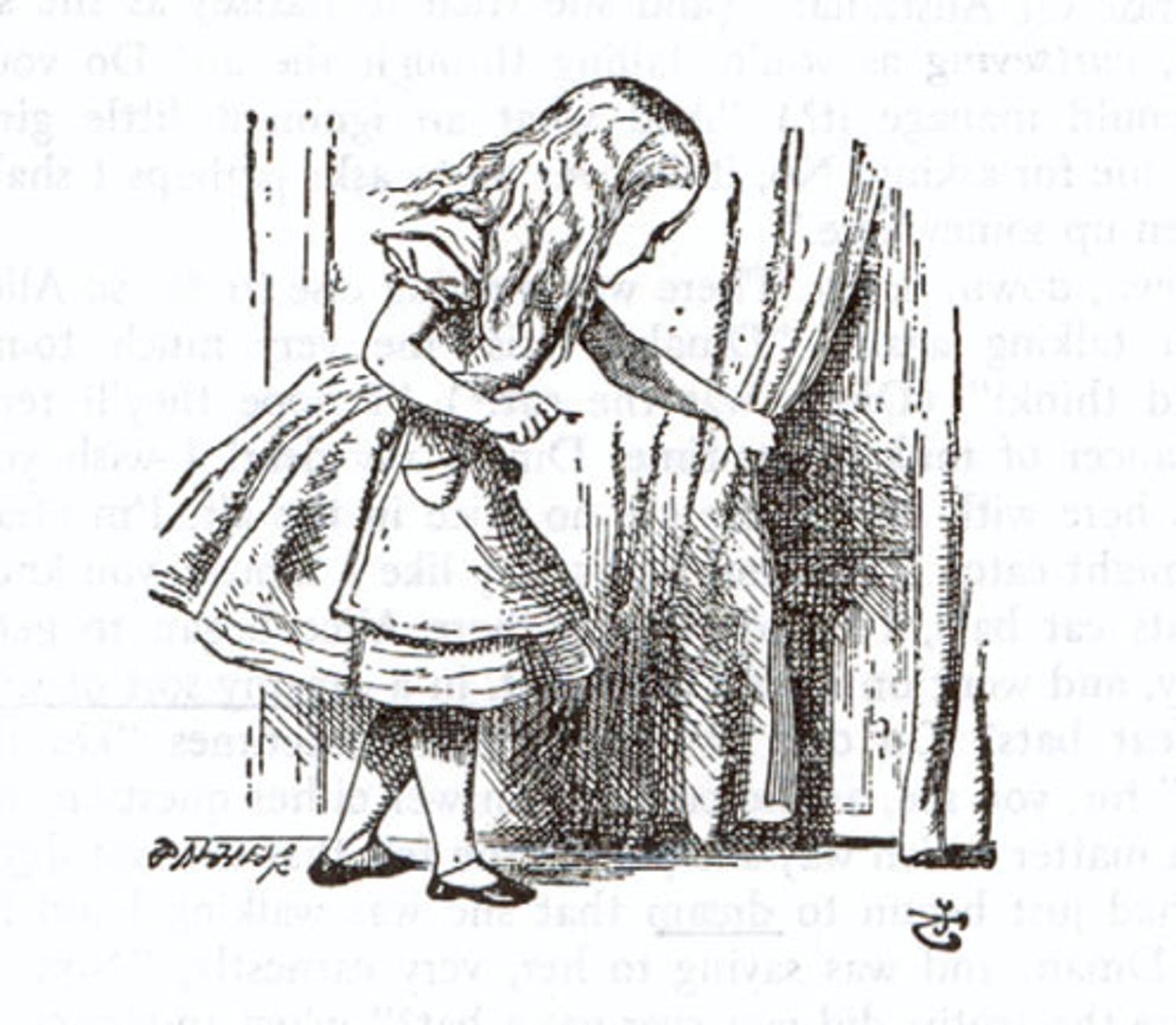 what really happened to alice in wonderland Alice was beginning to get very tired of sitting by her sister on the bank, and of having nothing to do: once or twice she had peeped into the book her sister was reading, but it had no pictures or conversations in it, `and what is the use of a book,' thought alice `without pictures or conversation.